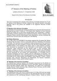 MoP5.Doc.5 - Eurobats