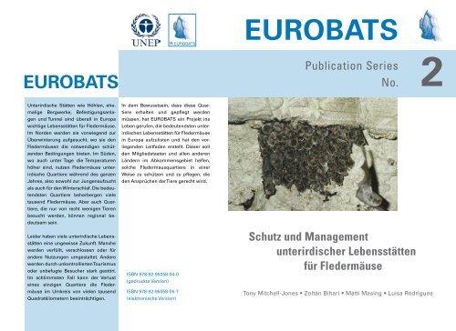 Unterirdische Lebens - Eurobats