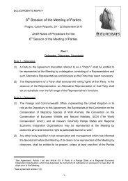 MoP6.Doc.4 - Eurobats