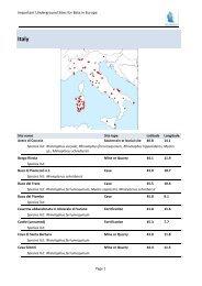 Italy - Eurobats
