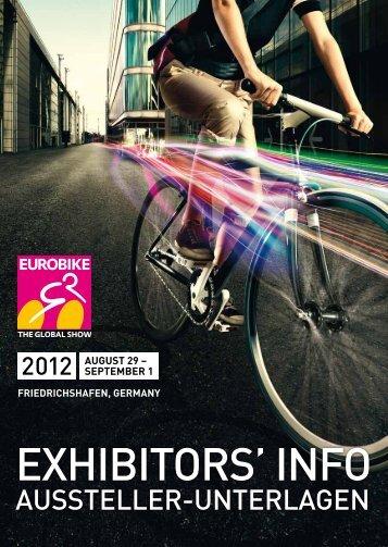 EUROBIKE 2012 | Exhibitors' info | Aussteller-Unterlagen
