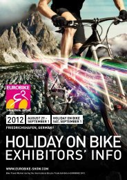 EUROBIKE 2012 | HOLIDAY ON BIKE