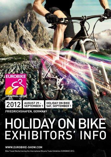 EUROBIKE 2012 | HOLIDAY ON BIKE