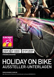 EUROBIKE 2013 | HOLIDAY ON BIKE