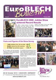 EuroBLECH 2008: Jubilee Show achieved Record Results