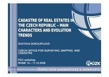 The Czech Cadastral System