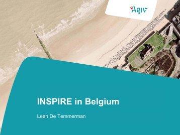 INSPIRE in Belgium