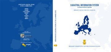 Cadastral Information System: a resource for the EU policies
