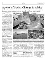 Agents of Social Change in Africa - Ashoka