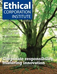 Corporate responsibility, maturing innovation - EuroCharity