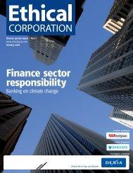 Finance sector responsibility - EuroCharity