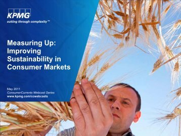Measuring Up: Improving Sustainability in Consumer ... - EuroCharity