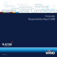 Corporate Responsibility Report 2008 - EuroCharity