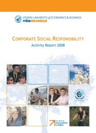 Corporate Social Responsibility Report 2008 - English ... - EuroCharity