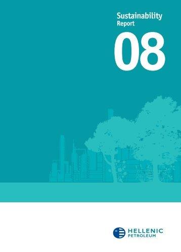 Hellenic Petroleum Group's Sustainability Report 2008 - EuroCharity