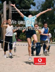 Corporate Social Responsibility Report (April 2003 ... - CSR in Greece