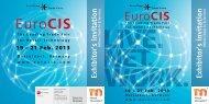 EuroCIS 2013 Ausstellereinladung