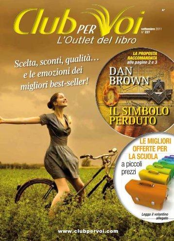 Catalogo Club per Voi n.227 Settembre 2011 - Euroclub