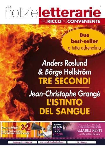Catalogo Notizie Letterarie n° 642 Settembre 2010 - Euroclub