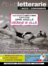 Catalogo Notizie Letterarie n.655 Agosto 2011 - Euroclub