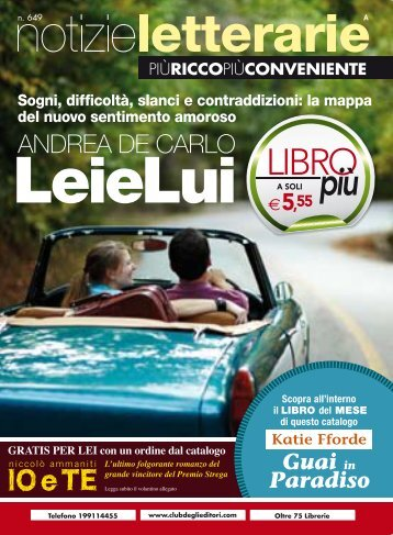 Catalogo Notizie Letterarie n.649 Marzo 2011 - Euroclub