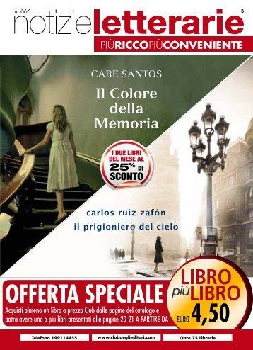 Catalogo Notizie Letterarie n.666 Aprile 2012 - Euroclub