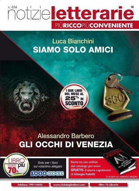 Catalogo Notizie Letterarie n.654 Luglio 2011 - Euroclub