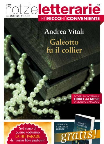 Catalogo Elettronico Notizie Letterarie n.671 - Euroclub