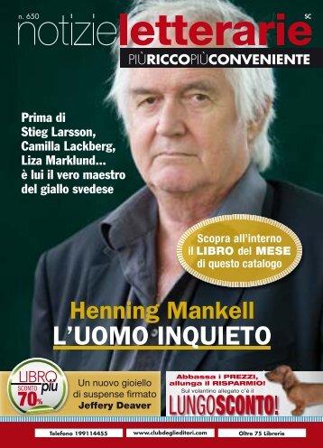 Catalogo Notizie Letterarie n.650 Primavera 2011 - Euroclub