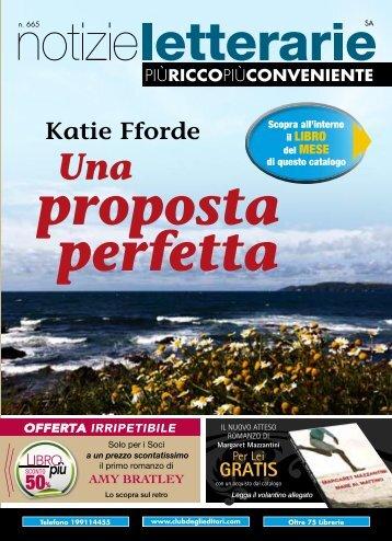 Catalogo Notizie Letterarie n.665 Aprile 2012 - Euroclub