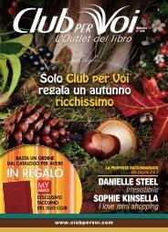 Catalogo Club per Voi n.228 Autunno 2011 - Euroclub