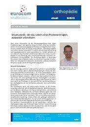 Orthopaedie Aktuell 04 2013 - eurocom