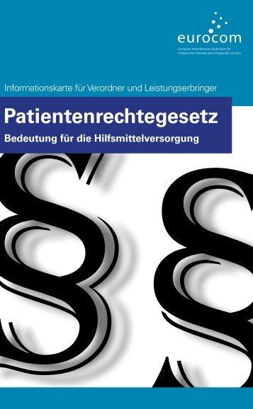 Patientenrechtegesetz - eurocom