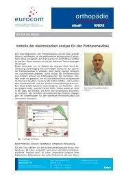 orthopädie aktuell Oktober 2012 - eurocom