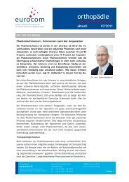 orthopädie aktuell 07 - eurocom