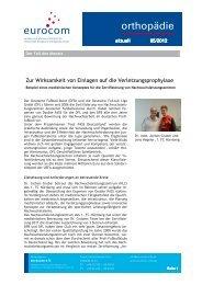 orthopädie aktuell Mai 2012 - eurocom