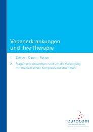 Venenerkrankungen und ihre Therapie - eurocom
