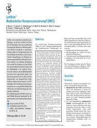Leitlinie* MedizinischerKompressionsstrumpf(MKS) - eurocom