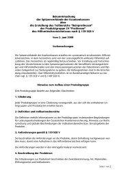 Produktgruppe 24 - GKV-Spitzenverband