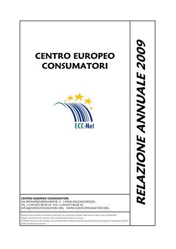 Relazione annuale CEC 2009