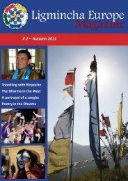 Ligmincha Europe Magazine # 2 – Autumn 2011