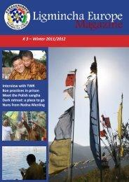 Ligmincha Europe Magazine # 3 – Winter 2011/2012