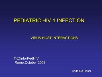 Virus-Host interactions overview - Anita De Rossi - EuroCoord