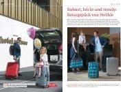 Robust, leicht und trendy: Reisegepäck von Ströhle