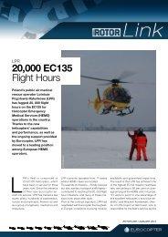 20,000 EC135 Flight Hours - Eurocopter