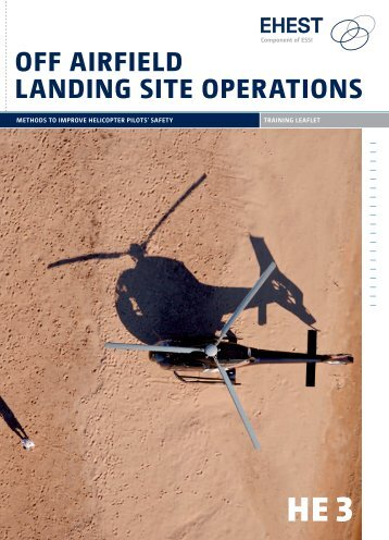 EHEST Off-airfield Landing Site Operations - Eurocopter