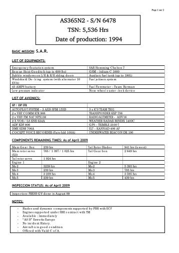 Compte-rendu de runion - Eurocopter