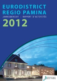 Jahresbericht 2012 EURODISTRICT - eurodistrict regio pamina