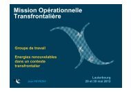 Mission Opérationnelle Transfrontalière - eurodistrict regio pamina