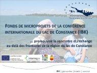 IBK - Fonds de microprojets - eurodistrict regio pamina
